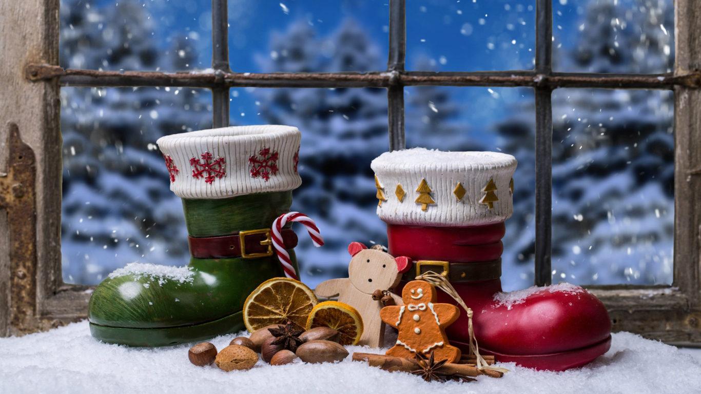 Рождество 2019, Новый Год, hd обои