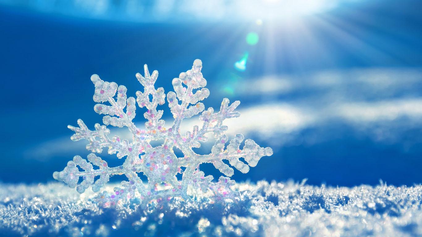 Зима, снежинка, снег, snow, snowflake, winter