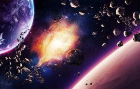 космос, планеты, взрыв, галактика, звезды, space, planet, explosion, galaxy