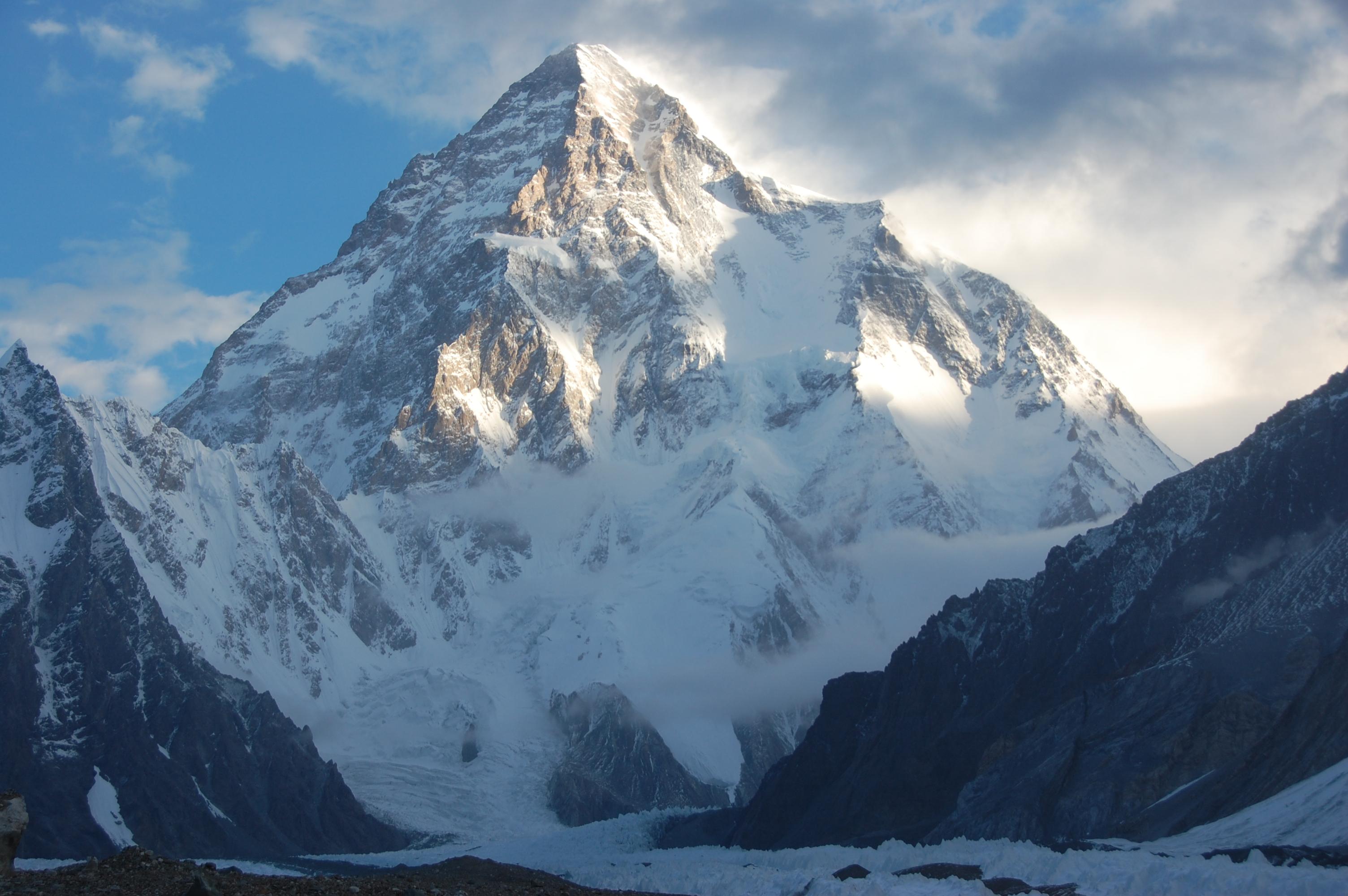 горы, высокие, гора, К2, Чогори, обои hd