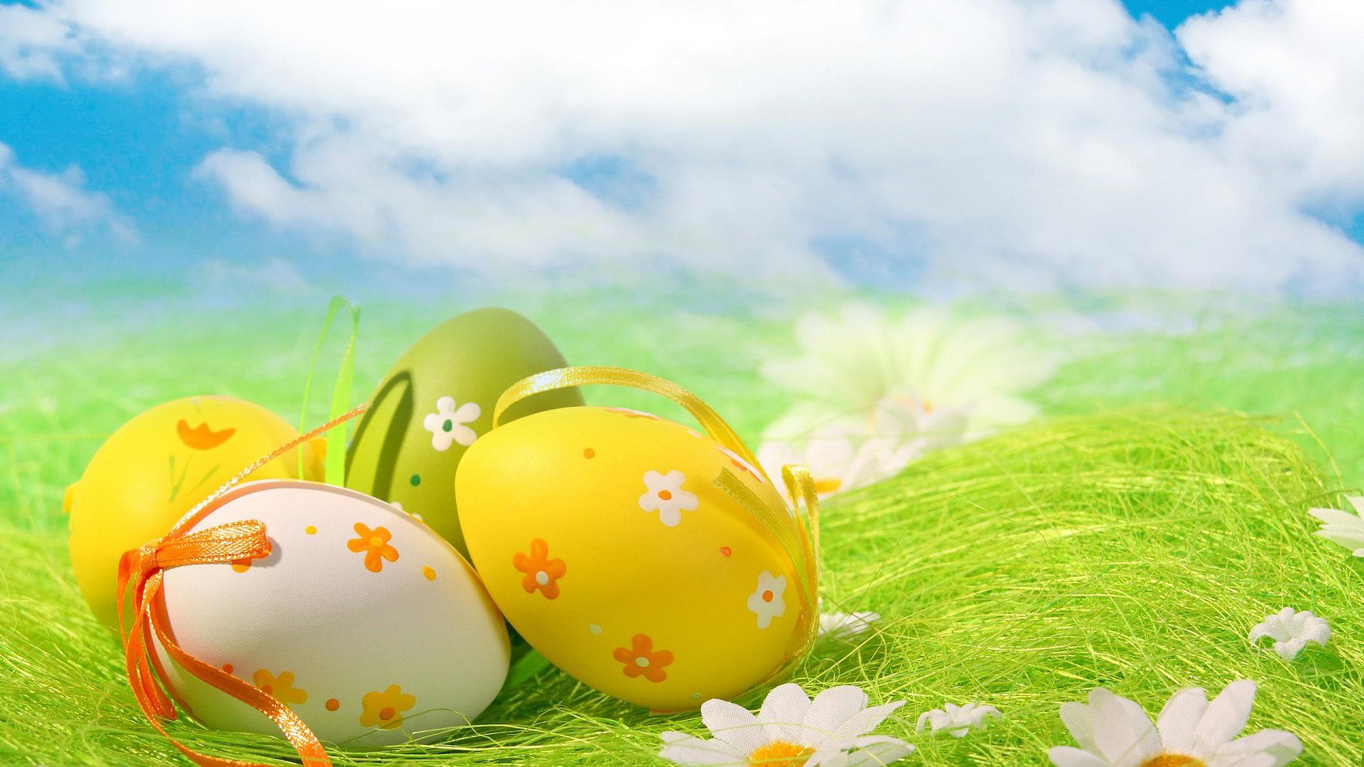 Пасха, яйца, пасхальные обои HD