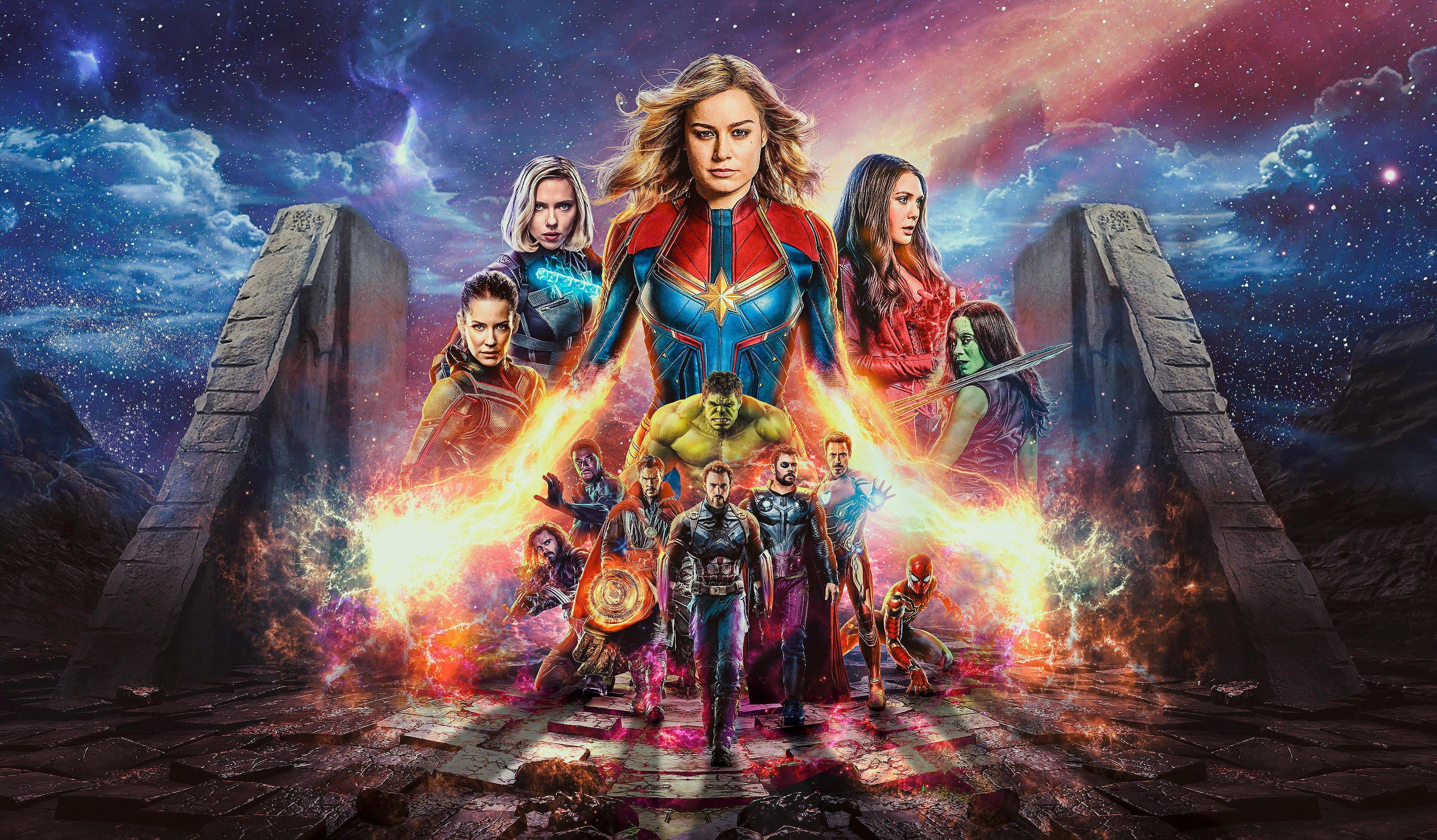 Мстители Финал, месники, Avengers End Game, 4k обои