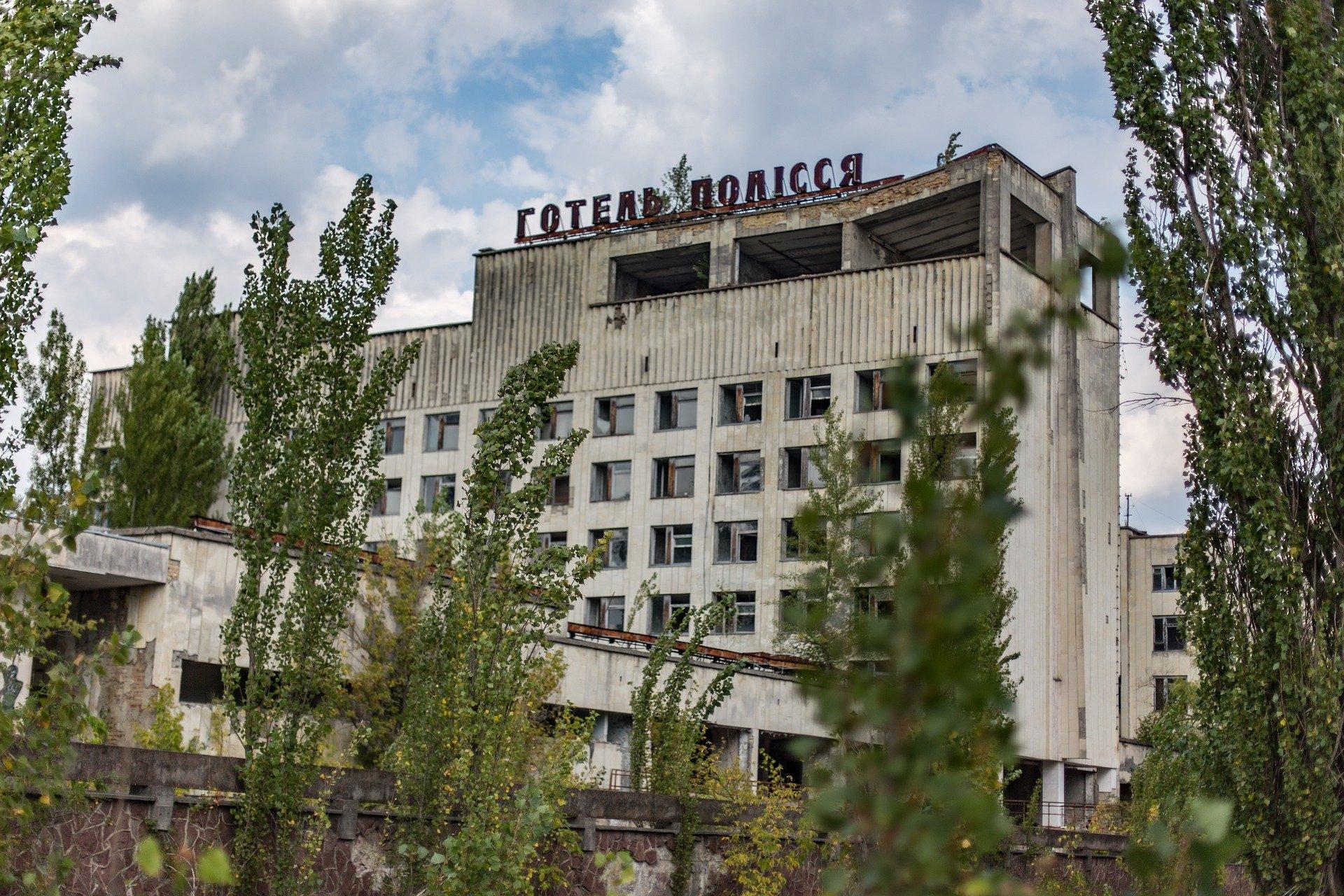 Чернобыль, Украина, Припять, отель