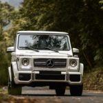 Белый Mercedes-Benz G-class