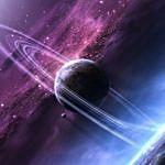 Планета и звезды во вселенной