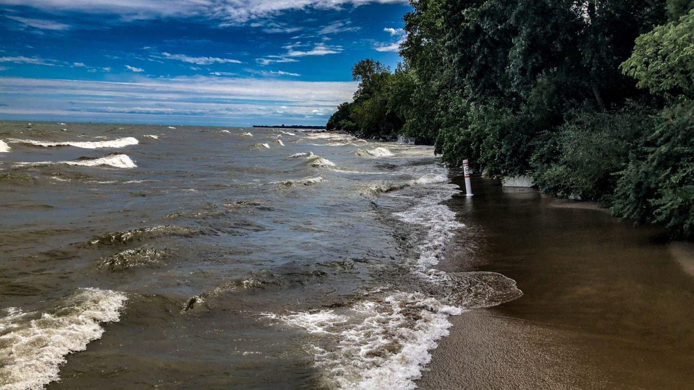 море вода обои, берег, небо голубое, волны, природа 4к